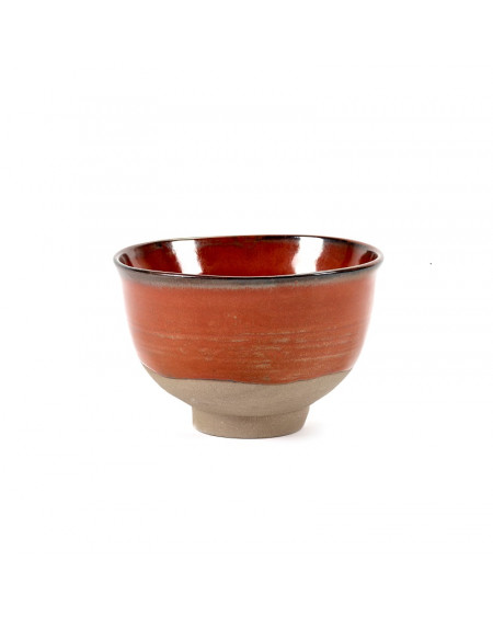 BOWL MERCI N°2 SMALL ROUGE SERAX