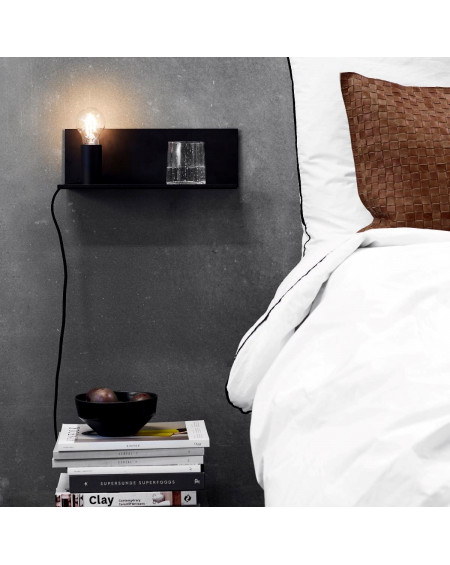 LAMPE FLASH MAGNETIQUE NOIR - MUUBS