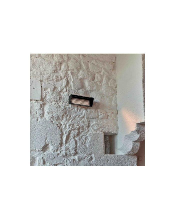 APPLIQUE BINY BOX 2 NOIRE LAMES BLANCHES DCW EDITIONS