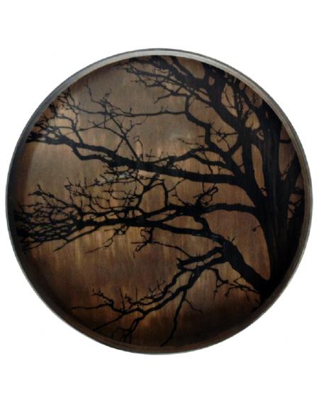 PLATEAU BLACK TREE DRIFTWOOD Ø61 NOTRE MONDE