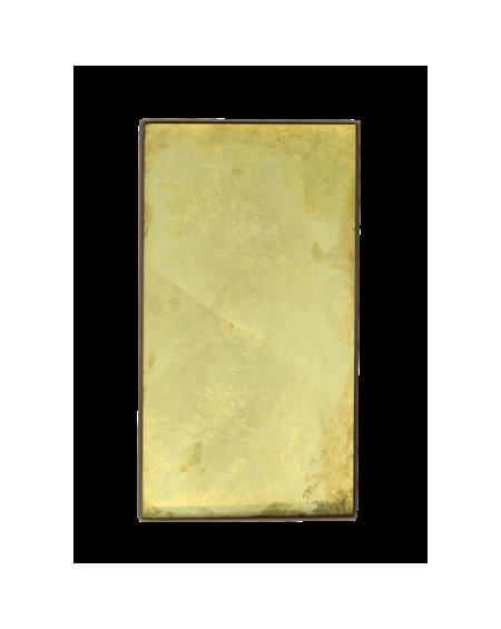 PLATEAU MINI GOLD LEAF 31x17 NOTRE MONDE