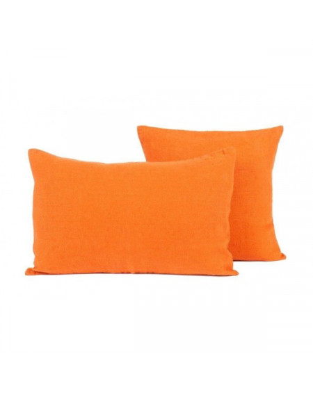 HOUSSE DE COUSSIN PROPRIANO 80X80 PAPRIKA HARMONY