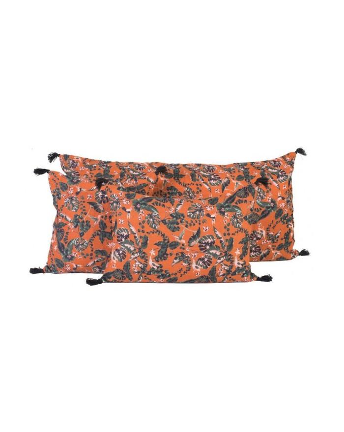 housse de coussin colibri 55x110 paprika d 39 harmony pour. Black Bedroom Furniture Sets. Home Design Ideas