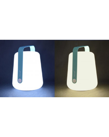 LAMPE BALAD H25 BLEU LAGUNE FERMOB