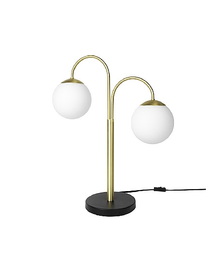 LAMPE DE TABLE CASPA LAITON/VERRE BROSTE COPENHAGEN