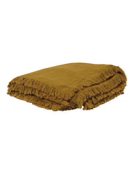 EDREDON EN LIN SNOB 90X190 BUTTERNUT - BED AND PHILOSOPHY