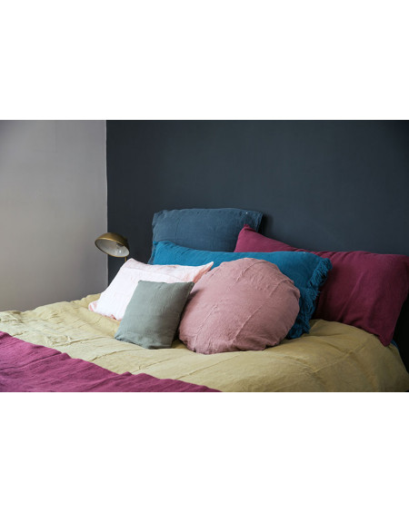 HOUSSE DE COUETTE NOLITA EN LIN BUTTERNUT BED AND PHYLOSOPHY