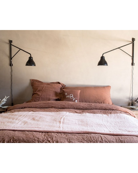 HOUSSE DE COUETTE EN LIN ROSEBUD BOUTONS - BED AND PHYLOSOPHY