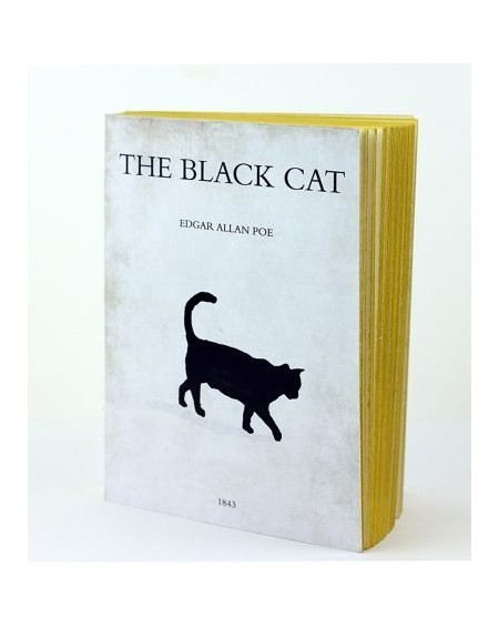 CARNET BLACK CAT 15X21 LIBRI MUTI