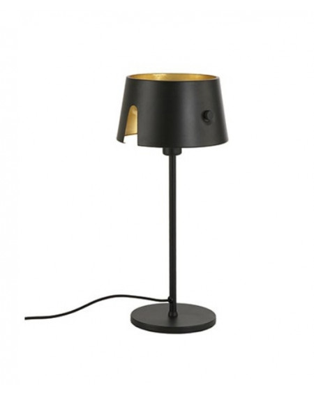 LAMPE INCLINABLE ECLIPS 1 NOIR / DORE LMF