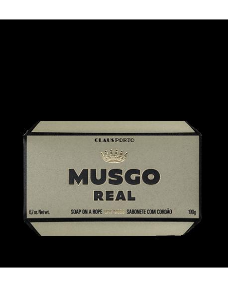SAVON MUSGO REAL OAK MOSS 190G SUR CORDE - CLAUS PORTO