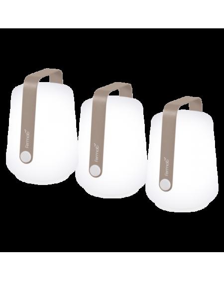 BALAD LOT DE 3 LAMPES MUSCADE FERMOB