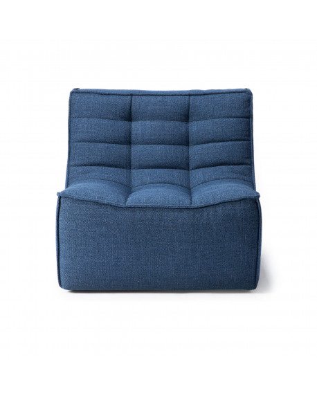 FAUTEUIL N701 1 PLACE BLEU 80X91XH76 - ETHNICRAFT