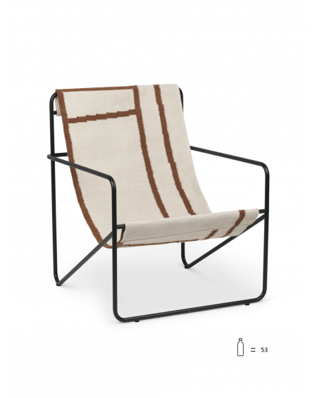 DESERT CHAIR BLACK/SHAPE FERM LIVING