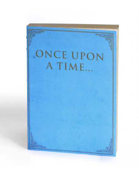 CARNET ONCE UPON A TIME LIBRI MUTI 15X21 - SLOW DESIGN