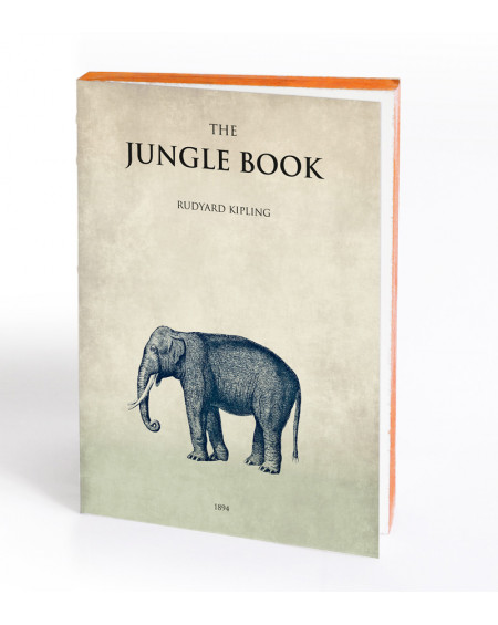 CARNET LE LIVRE DE LA JUNGLE LM 15X21