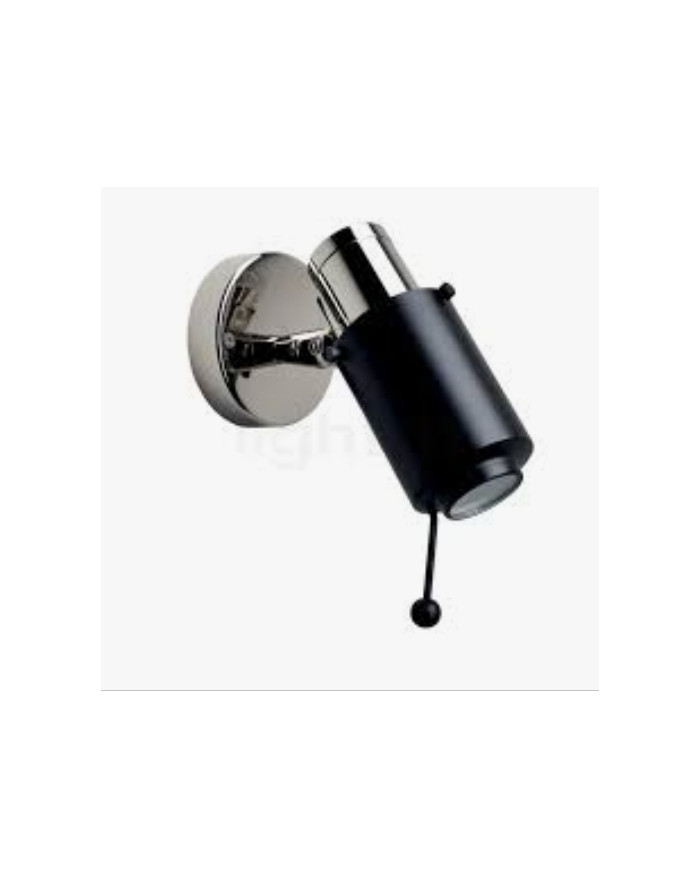 LAMPE BINYSPOTLED LED NICKEL/NOIR  DCW EDITIONS