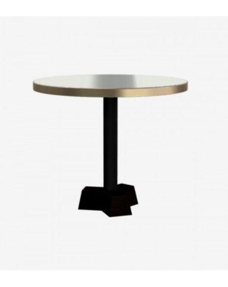 TABLE 44 BRASS LAITON PLATEAU Ø70CM X H60CM GERVASONI