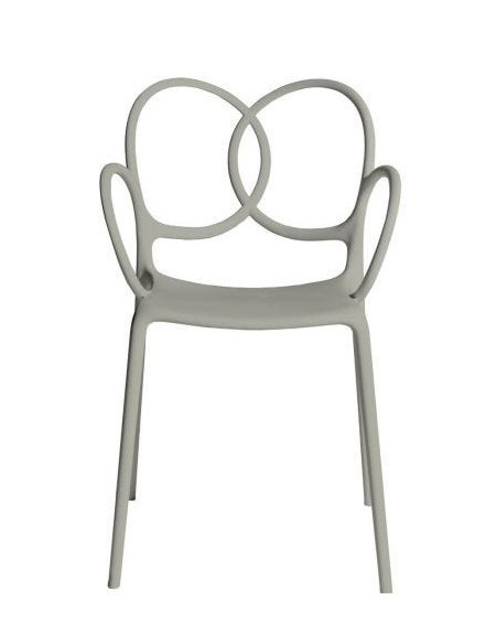 FAUTEUIL SISSI BEIGE POLYPROPYLENE DRIADE