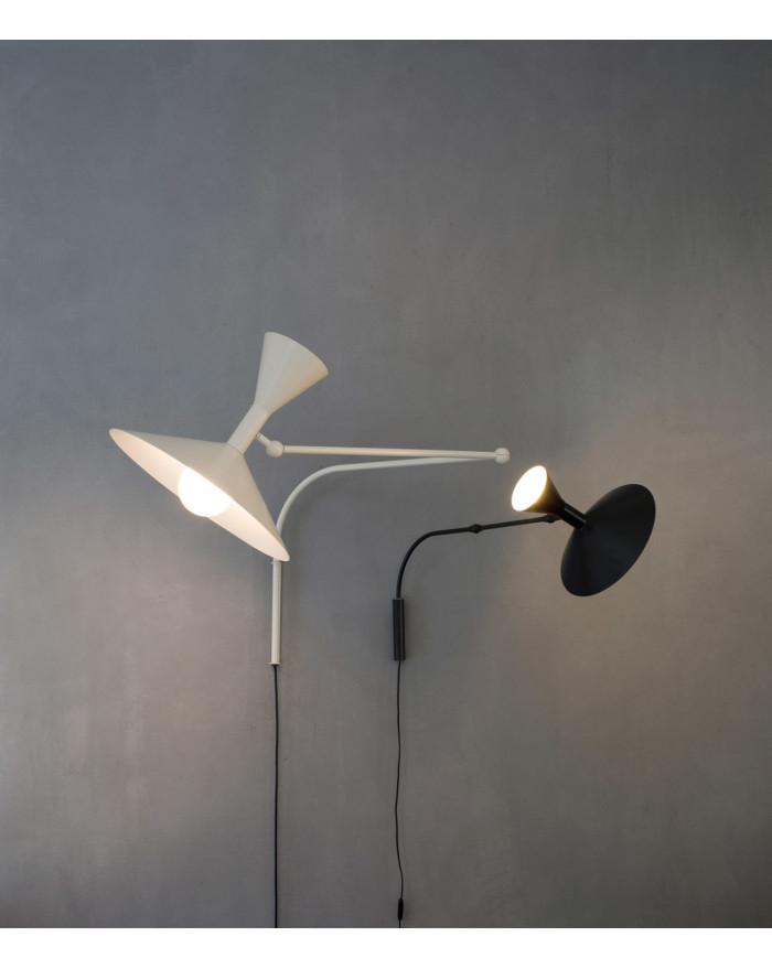 LAMPE DE MARSEILLE MINI NOIR 2X46W NEMO LIGHTING