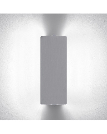 APPLIQUE PERRIAND ALUMINIUM VOLET DOUBLE 2x40W NEMO LIGHTING