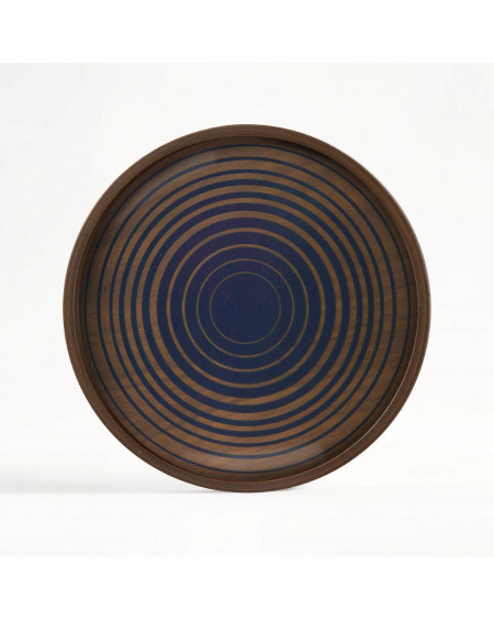 PLATEAU ROND ROYAL CIRCLE VALET TRAY Ø23 ETHNICRAFT