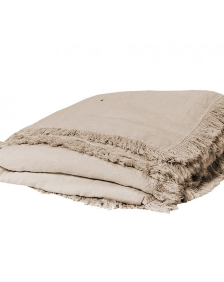 EDREDON EN LIN SNOB 90X190 NATUREL - BED AND PHILOSOPHY