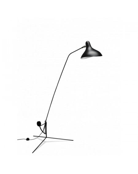 LAMPADAIRE MANTIS BS1 BL TREPIED DCW EDITIONS