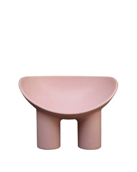 FAUTEUIL ROLY POLY FLESH (ROSE) - DRIADE