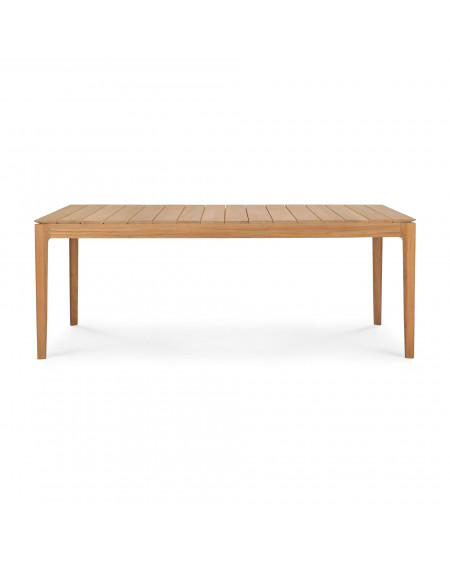 TABLE BOK OUTDOOR EN TECK 200X100X76 ETHNICRAFT