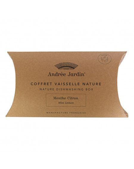 COFFRET NATURE VAISSELLE MENTHE-CITRON