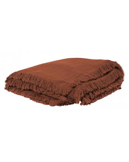 EDREDON EN LIN SNOB 90X190 TERRE BRULEE BED AND PHILOSOPHY