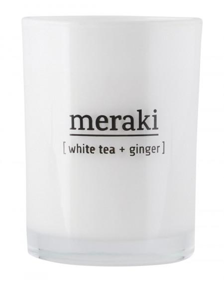 BOUGIE PARFUMEE WHITE TEA & GINGER MERAKI