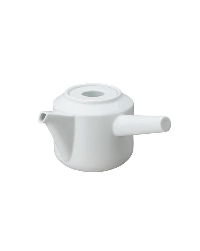 THEIERE LEAVES TO TEA KYUSU TEAPOT 300ML WHITE KINTO
